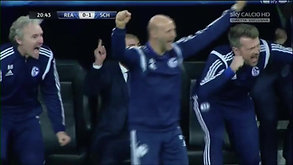 Coach Christian scores goal in Champions League game vs Real Madrid CF