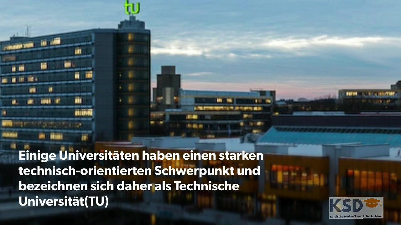 Hochschularten in Deutschland