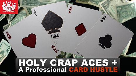 Holy Crap Aces + Pro Card Hustle