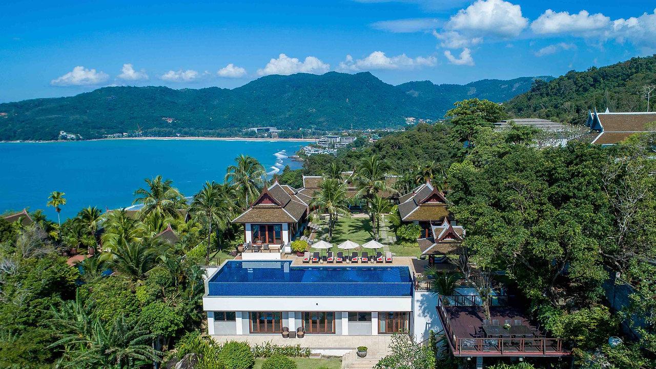 Villa Talaefun - Luxury 6-Bedroom Oceanfront Villa - Kamala Beach Phuket