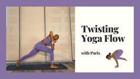Twisting Yoga Flow with Paris