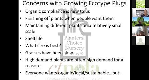 Using Native Ecotypes for Habitat Restoration