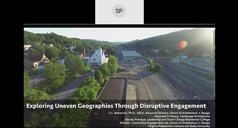 Exploring Unequal Geographies Through Disruptive Engagement