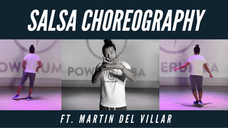 SALSA CHOREOGRAPHY ('AMIGOS CON DERECHO' & DESCARGA MAYOR')
