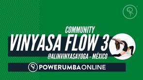 YOGA VINYASA FLOW 3 (SPANISH) - Alin Hamui