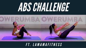 #LaMamaFitness Abs Challenge