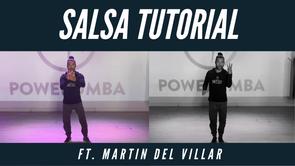 Salsa Tutorial Ft. Martin Del Villar