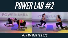 POWER LAB 2 (SKATEBOARD & YOGA BALL) Ft. #LAMAMAFITNESS