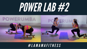 POWER LAB 2 (SKATEBOARD & YOGA BALL) Ft. #LAMAMAFITNESS