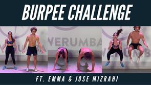Burpee Challenge Ft. Jose & Emma Mizrahi