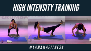 HIIT Ft. #LAMAMAFITNESS