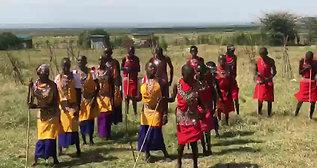 Dance performance by Ilkimatare Primary School children