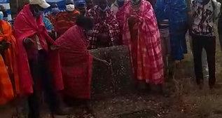 Commissioning of the rehabilitated borehole at OleSoogon