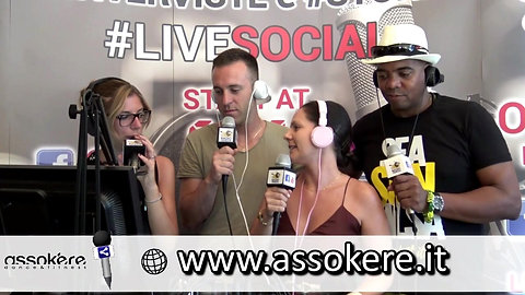 Intervista Radio Venezia Live Social 2017
