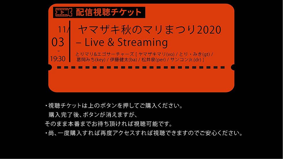 ヤマザキ秋のマリまつり2020 – Live & Streaming