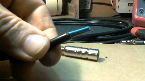 Tips armado de cable de parlante
