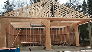 Two Sided garage - Michigan Future Hybrid Construction Company