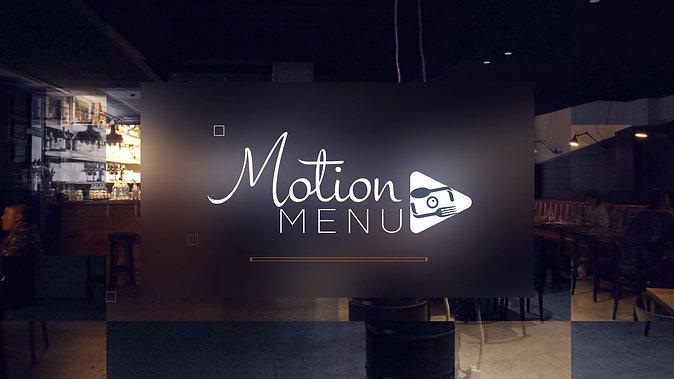 Motion Menu Sales Promo