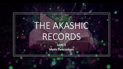 Akashic Records Webinar Dec 17