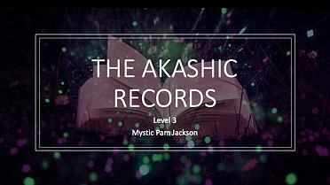 Akashic Records Webinar Level 3