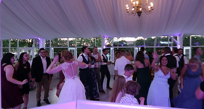 Bride Getting the Party Started!