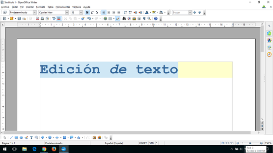 2º Herramientas de edición OpenOffice 2