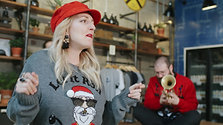 An Electric Blonde Christmas- Run Run Rudolph