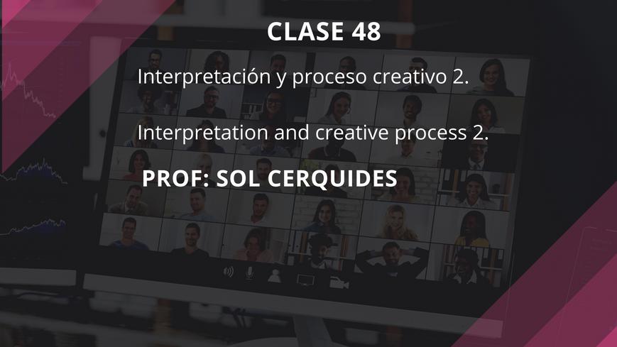 Clase 48 - Sol Cerquides - July 19