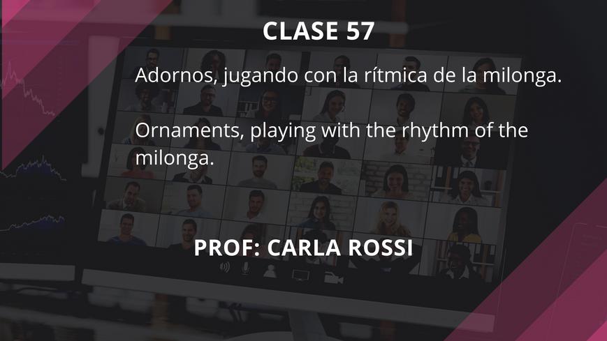 Clase 57 - Carla Rossi - Sep 22