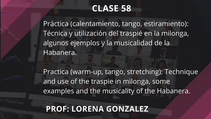 Clase 58 - Lorena Gonzalez - Sep 24