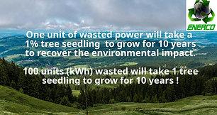 Energy Saving - Value of 1 kWh