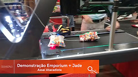 Demonstração Emporium + Datalogic Jade Portal Scanner