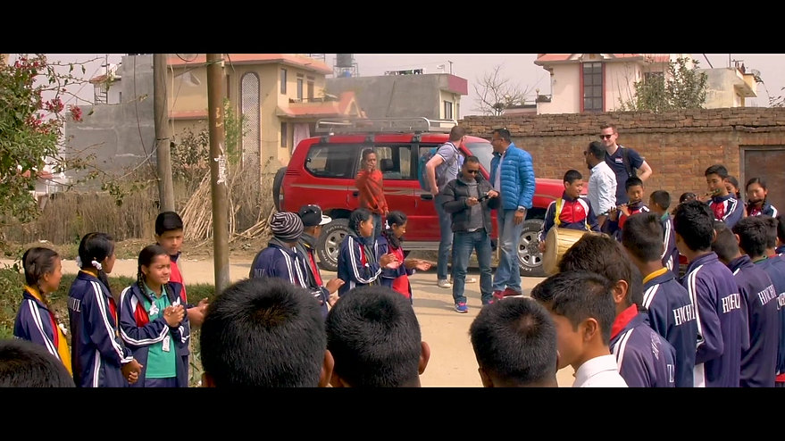 Volleyball Clinic In Nepal