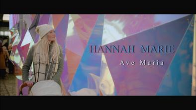 Hannah Marie - Ave Maria (Official Video)