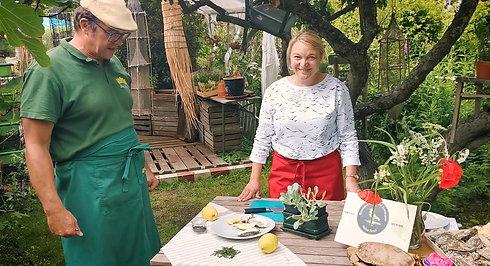 Kochen mit Andreas von der Meeresgärtnerei Sylt
