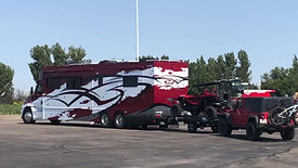 Awesome Customer Setup - Renegade Motorhome with RZR and Jeep