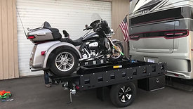 Freedom Hauler featuring a Rampage Motorcycle Lift
