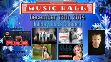 Tarrytown Music Hall Christmas Event 892 people