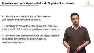 Empreendedorismo Sustentável - Aula 1.2