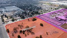 Warehouse next door to Jurupa Hills High School - Fontana, CA