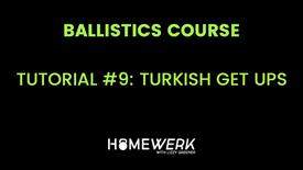 Tutorial #9: Turkish Get Ups