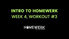 Week 4, Workout #3