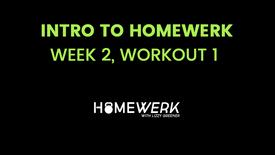 Week 2, Workout #1