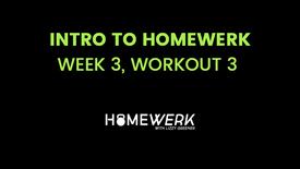 Week 3, Workout #3