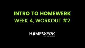 Week 4, Workout #2