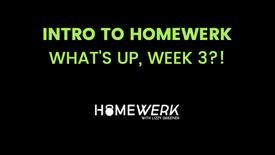Week 3 Info