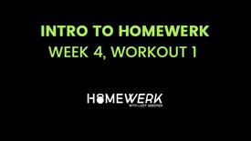Week 4, Workout #1