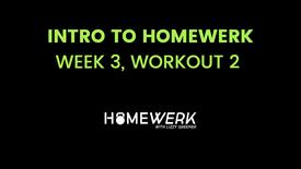 Week 3, Workout #2