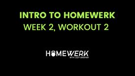 Week 2, Workout #2