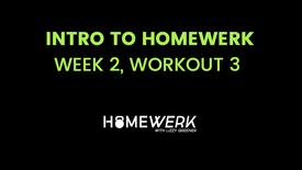 Week 2, Workout #3